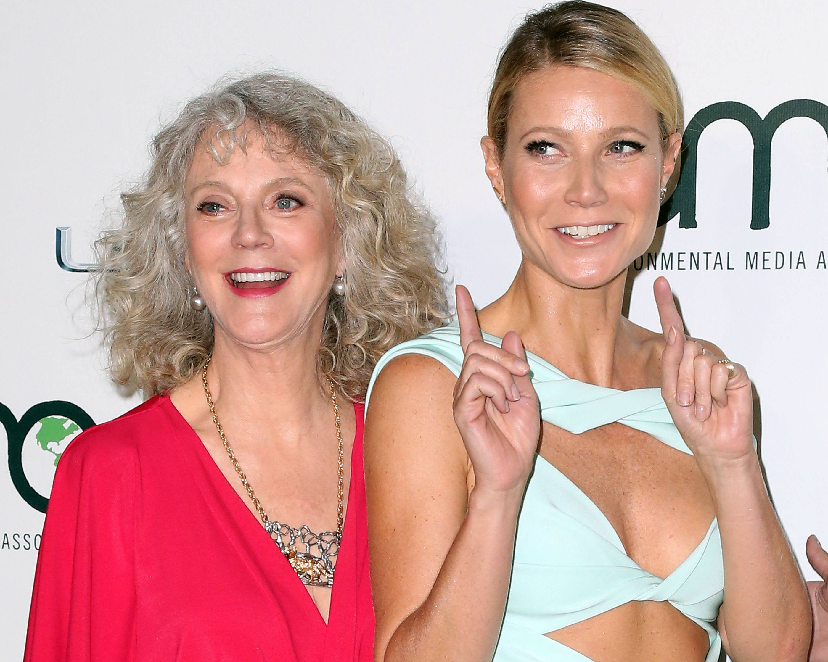 Blythe Danner and Gwenyth Paltrow