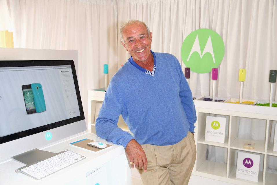 Dancer Len Goodman attends the HBO Luxury Lounge featuring Motorola and PANDORA Jewelry