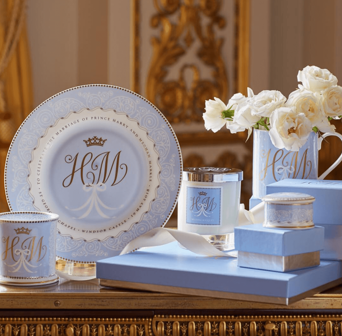 Harry and Meghan china