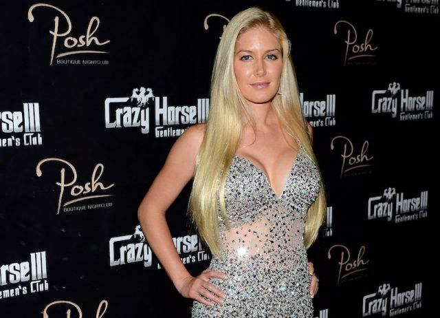 Heidi Montag on a red carpet.
