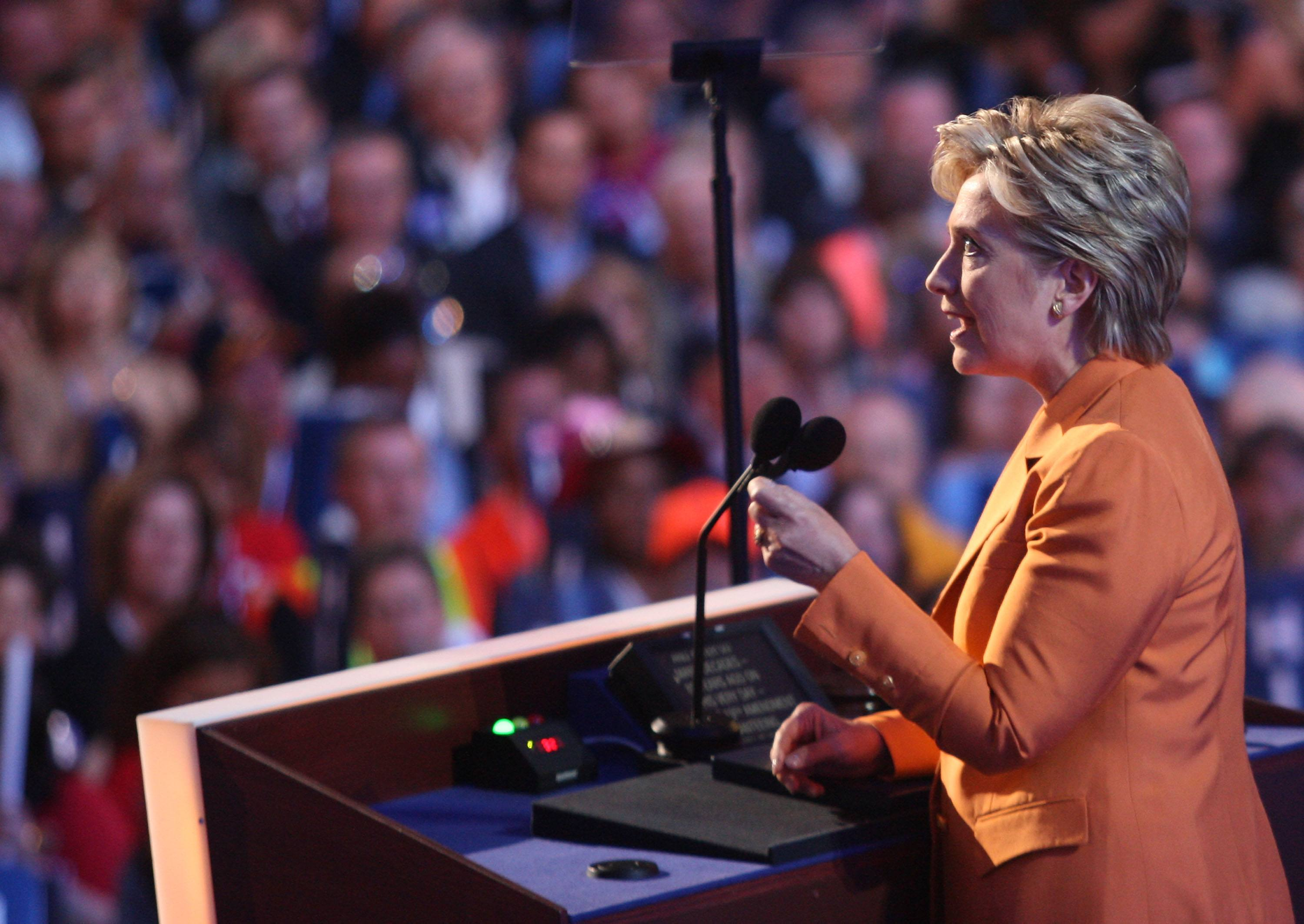 2008 Democratic National Convention Hillary Clinton speech