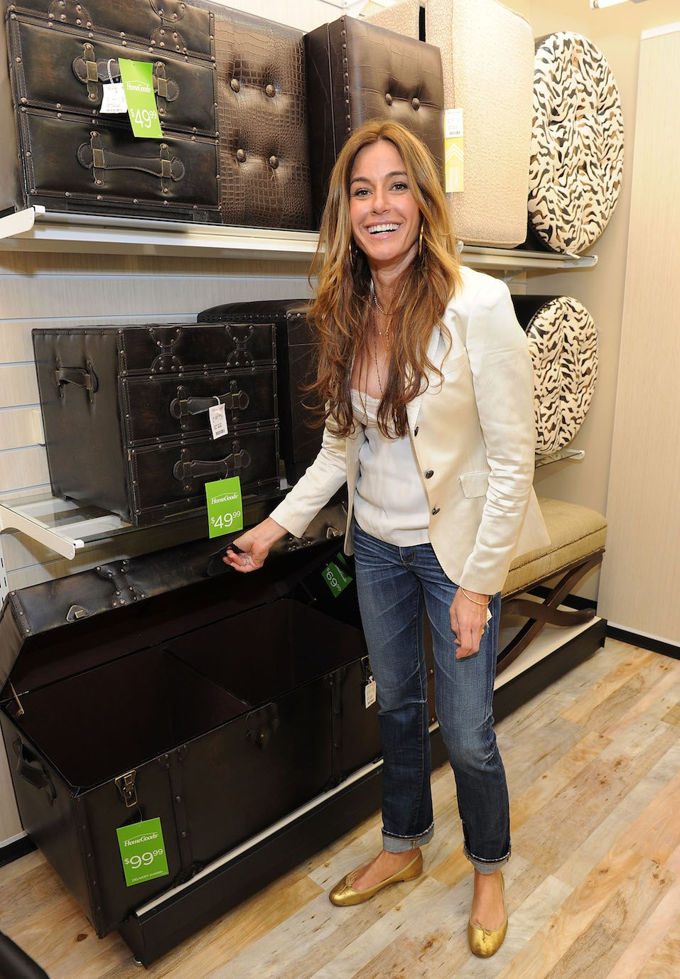 Kelly Killoren Bensimon attends the grand opening celebration of HomeGoods first Manhattan location at HomeGoods