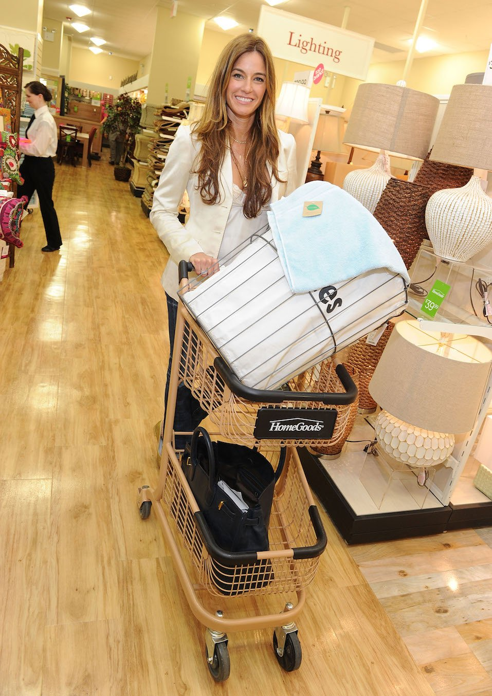 Kelly Killoren Bensimon attends the grand opening celebration