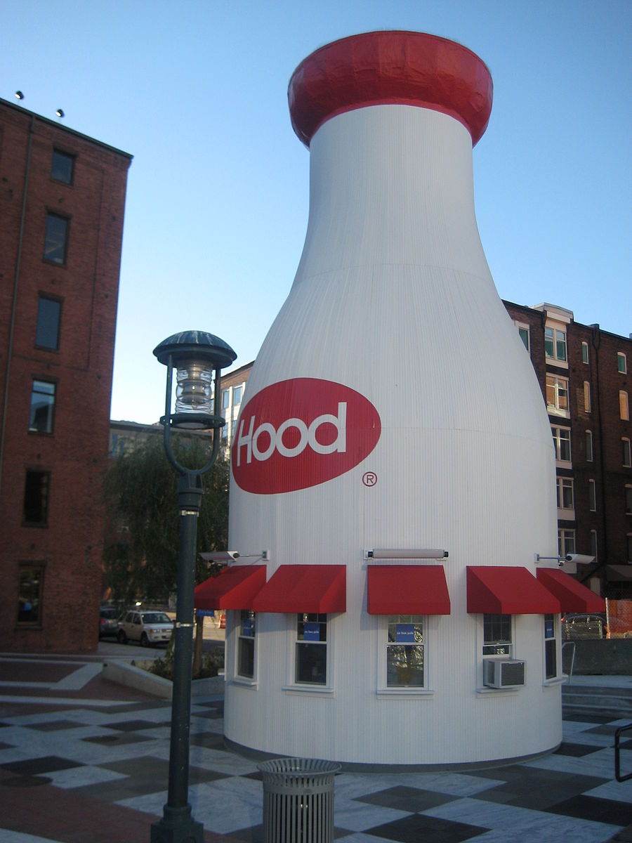 Hood Milk Bottle