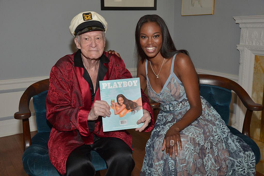 Playboy Founder Hugh M. Hefner