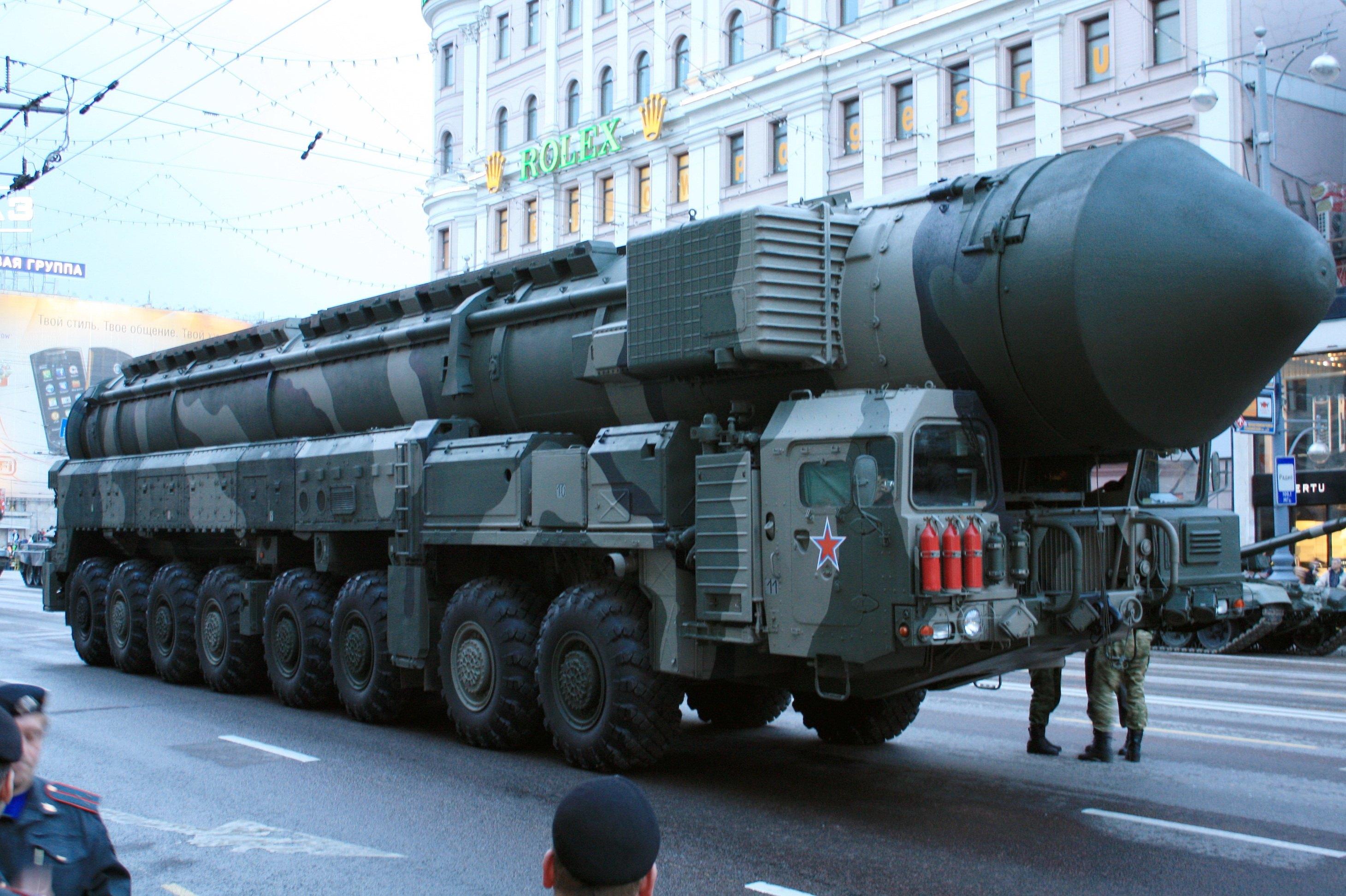 ICBM missile