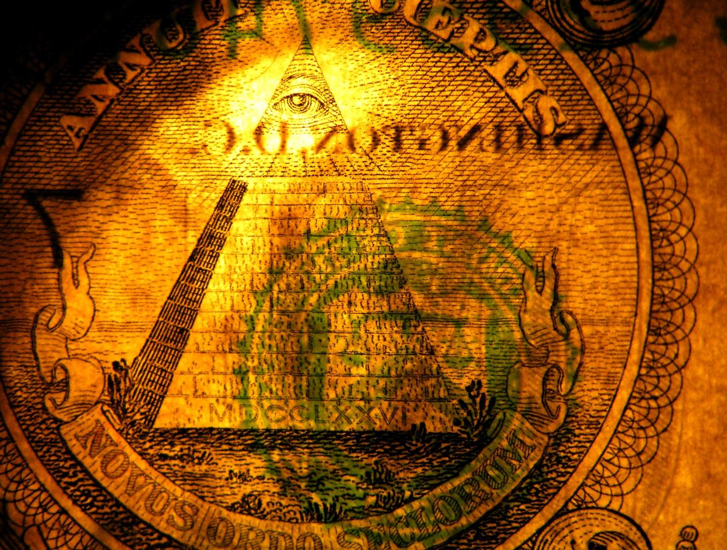 Illuminati One american dollar