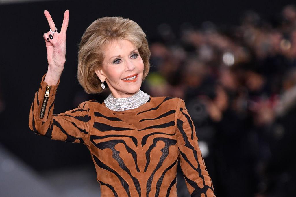 Actress Jane Fonda