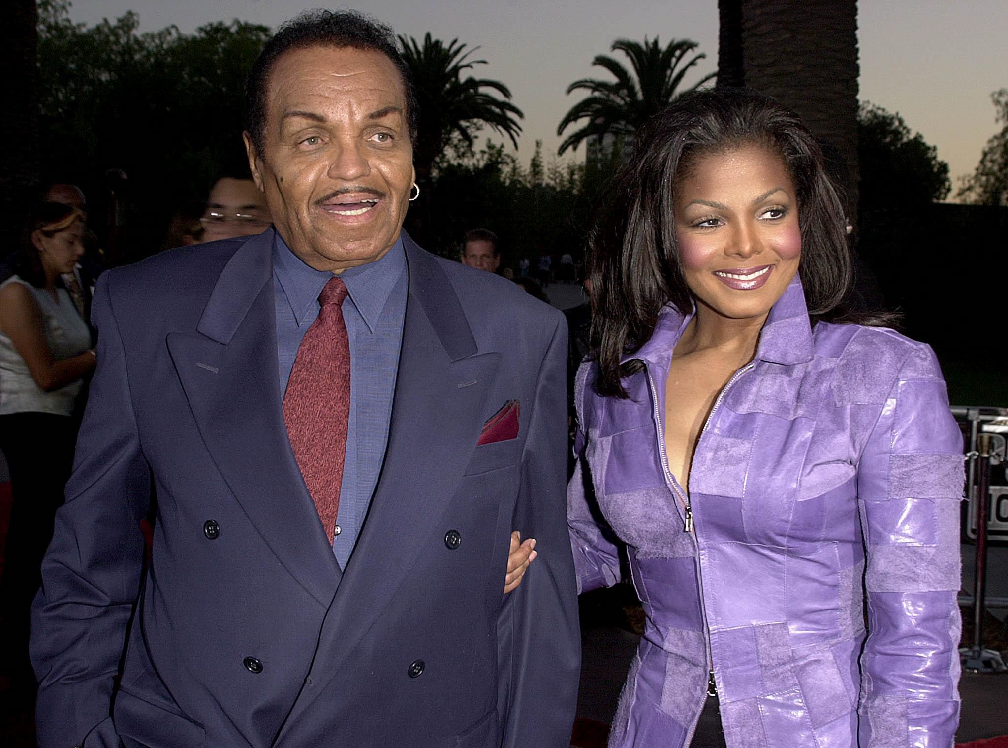 Janet and Joe Jackson