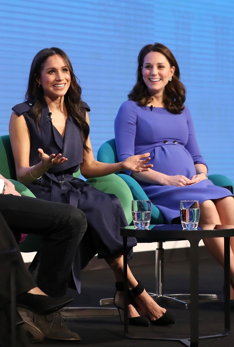 Meghan Markle and Catherine, Duchess of Cambridg