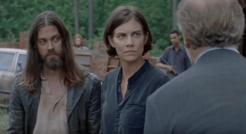 Lauren Cohan as Maggie Rhee on The Walking Dead
