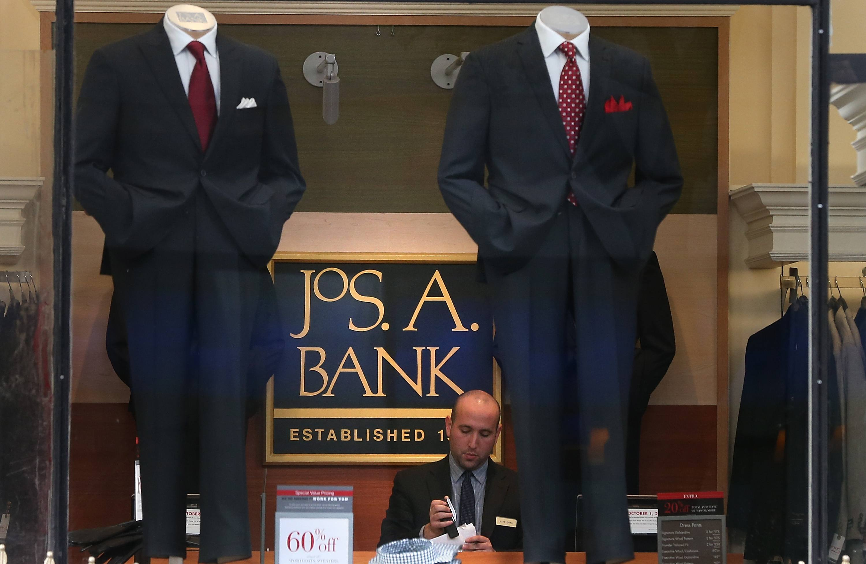 Men's Clothing Retailer Jos A. Bank Posts Quarterly Profits