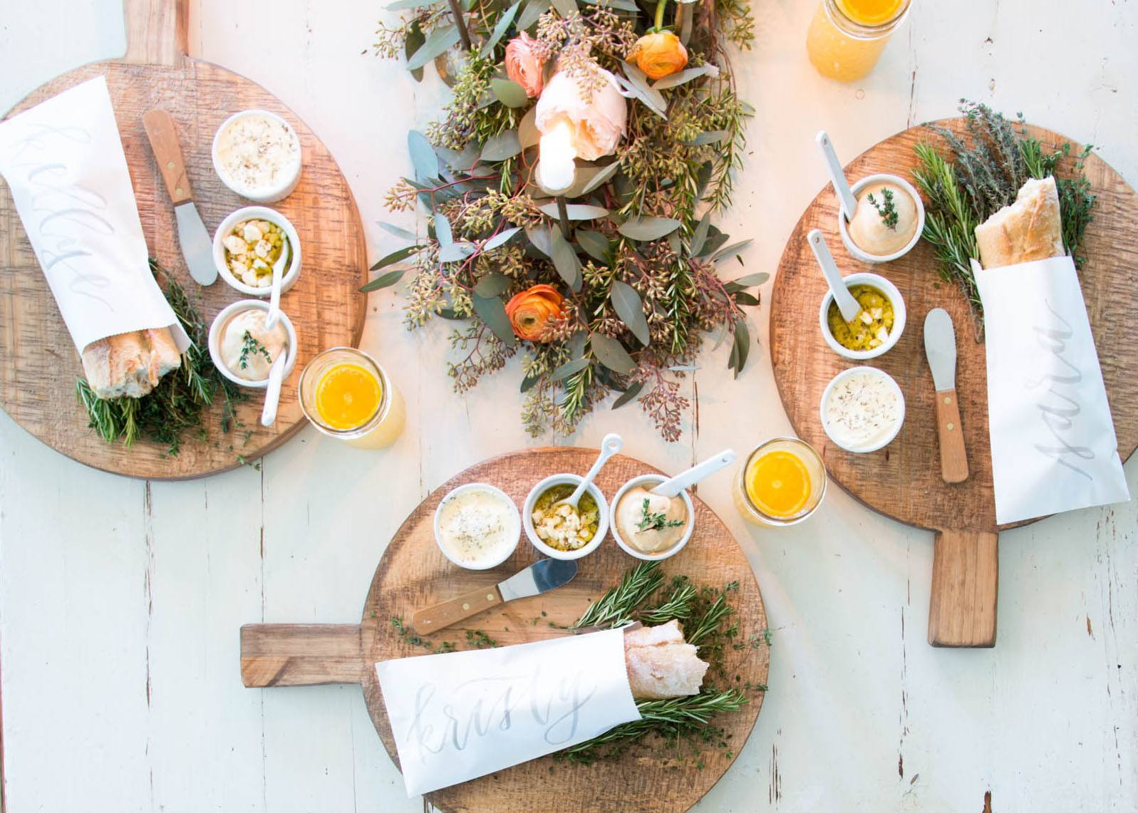 Joanna Gaines dinner party