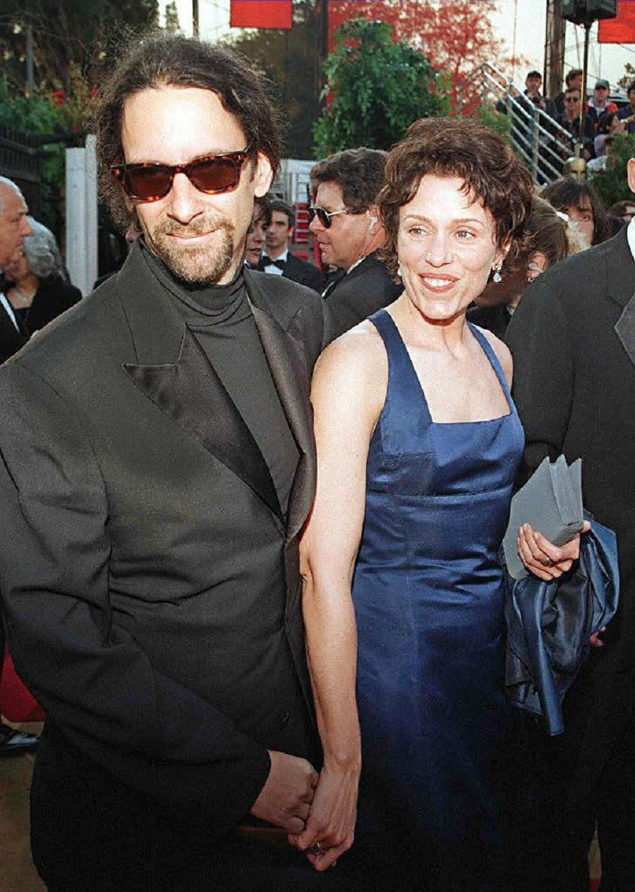 Joel Coen and Frances McDormand