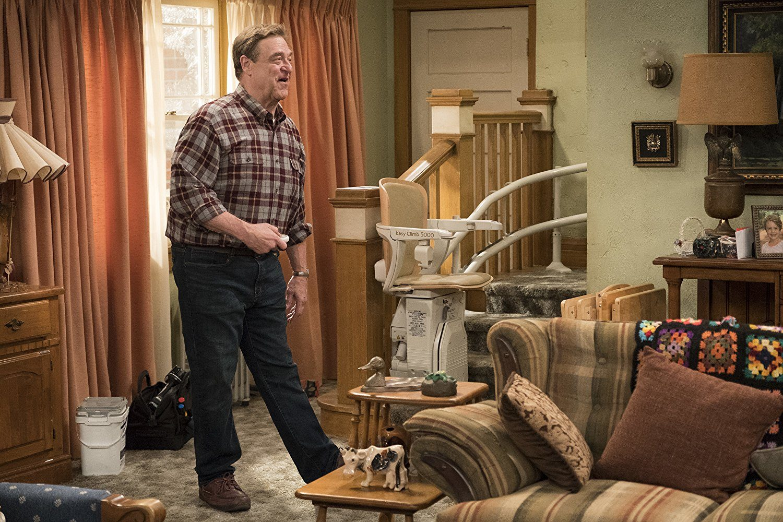 John Goodman on Roseanne