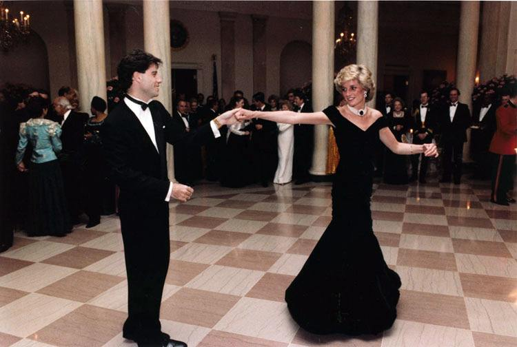 John Travolta and Princess Diana