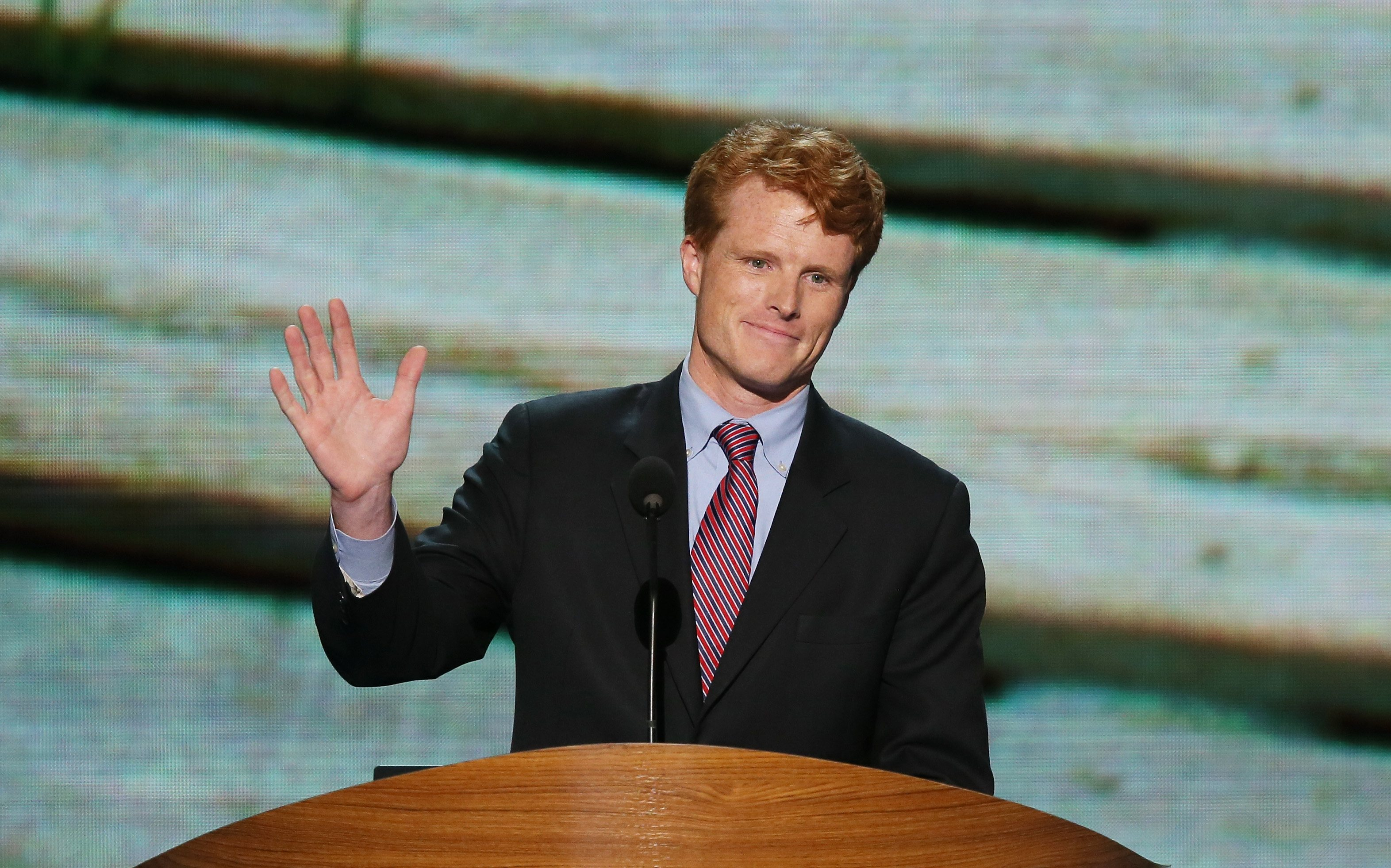 Josephe P. Kennedy III at the Democratic National Convention