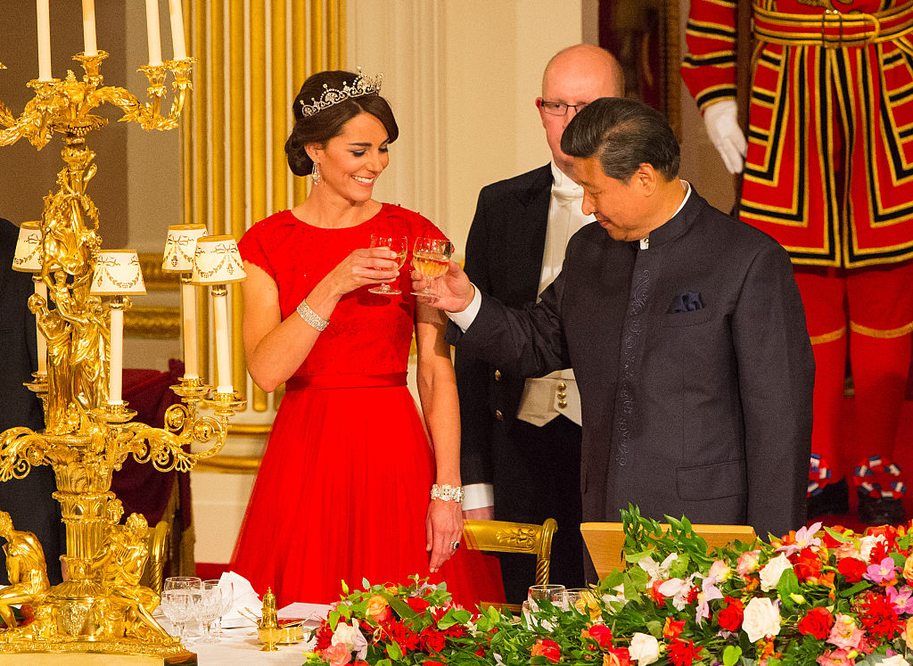 State Visit Of The President Of The People's Republic Of China with Kate Middleton