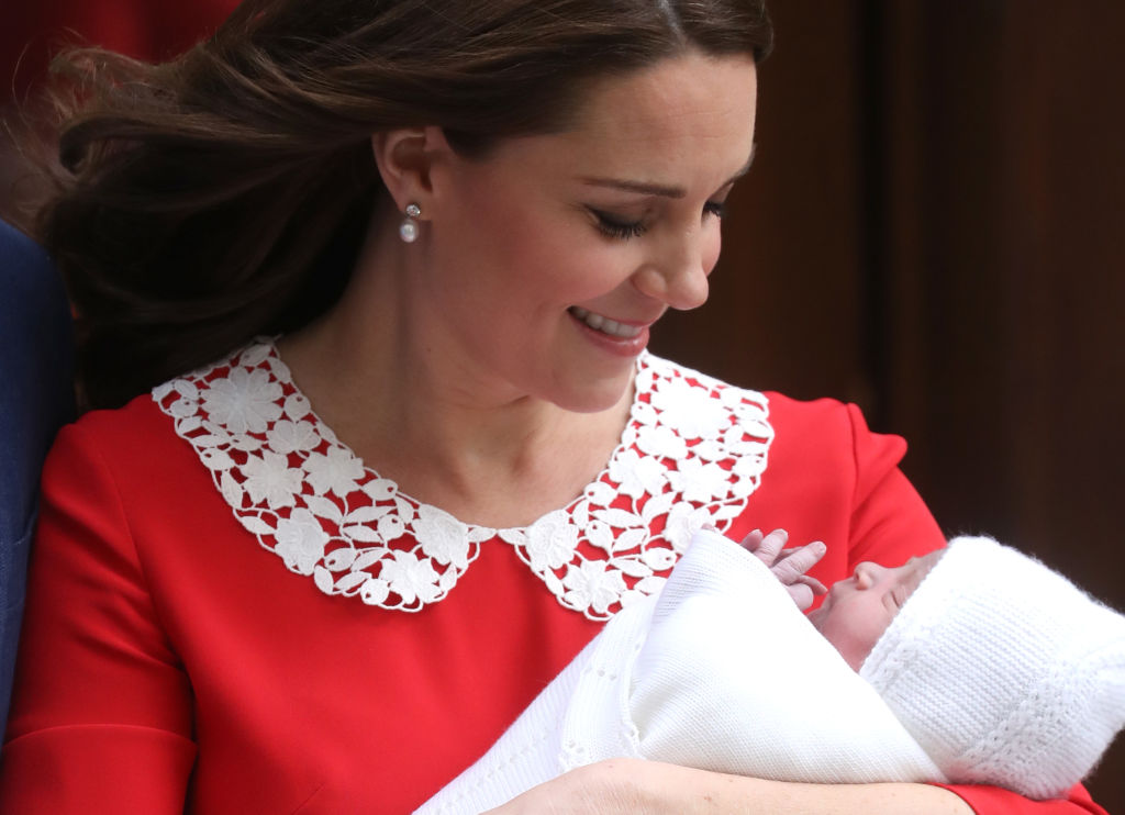 The Duke &Duchess Of Cambridge Depart The Lindo Wing With Their New Son