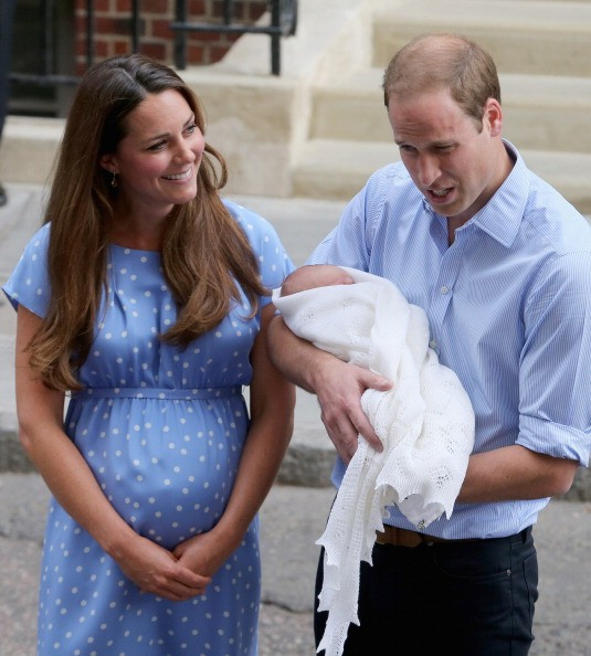 prince william and kate middleton with prince george