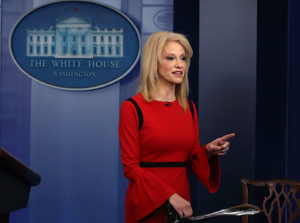 Kellyanne Conway press conference