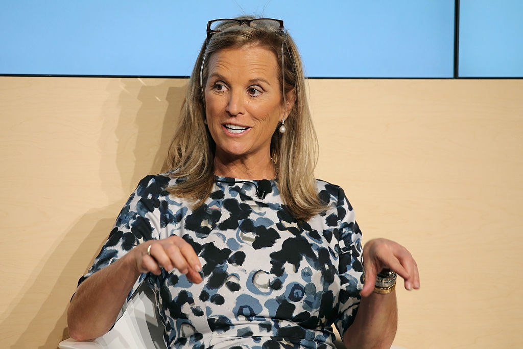 Kerry Kennedy attends The New York Times Food For Tomorrow Conference