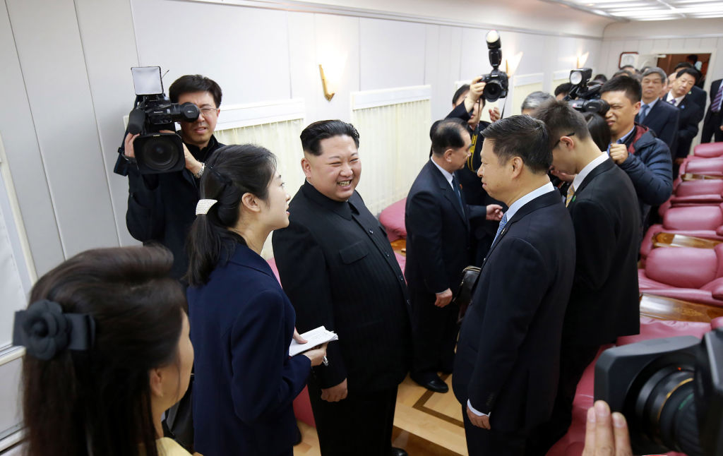 Kim Jong Un meets with Chinese officials