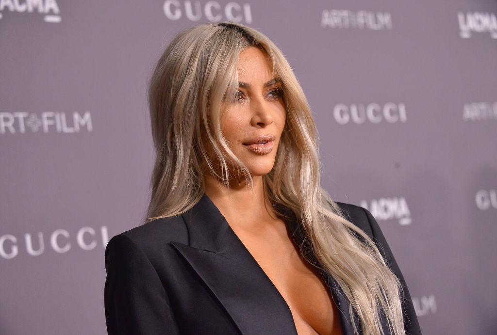 Kim Kardashian 2017 LACMA Art + Film Gala Honoring Mark Bradford And George Lucas Presented By Gucci - Red Carpet