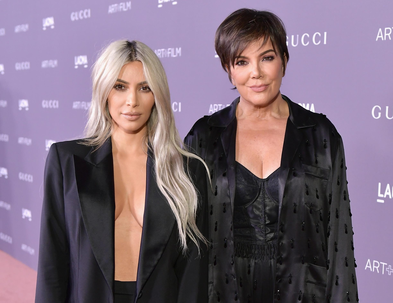 Kim Kardashian West and Kris Jenner