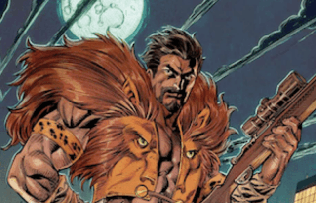 Kraven the Hunter comics.