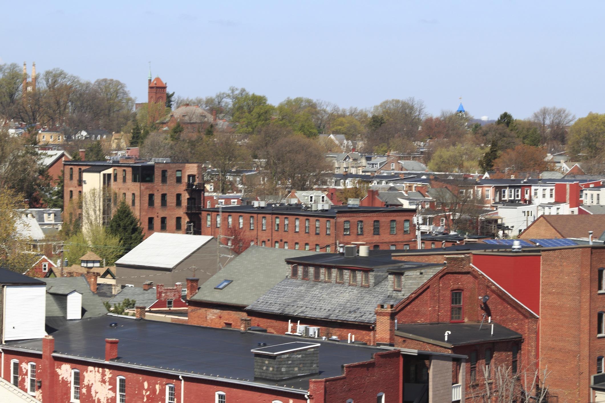 Northwest Lancaster, PA cityscape