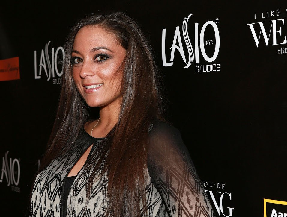 Samantha Giancola attends Lasio Studios Red Carpet Grand Opening
