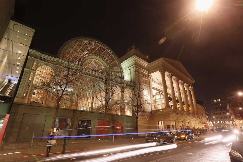 The Royal Opera House in Covent Garden