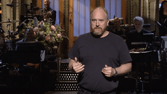 Louis C.K. on 'Saturday Night Live'.