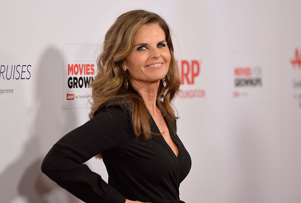 Maria Shriver at the Beverly Wilshire Four Seasons Hotel