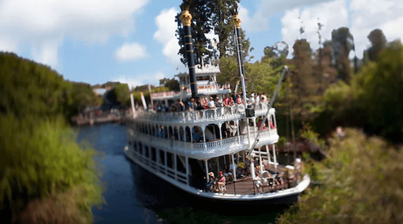 Disney Mark Twain boat