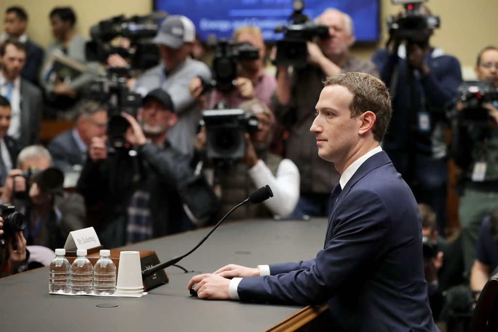 Mark Zuckerberg conference
