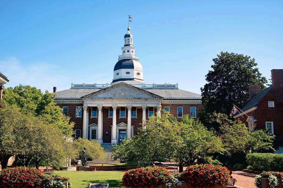 Maryland State capital building