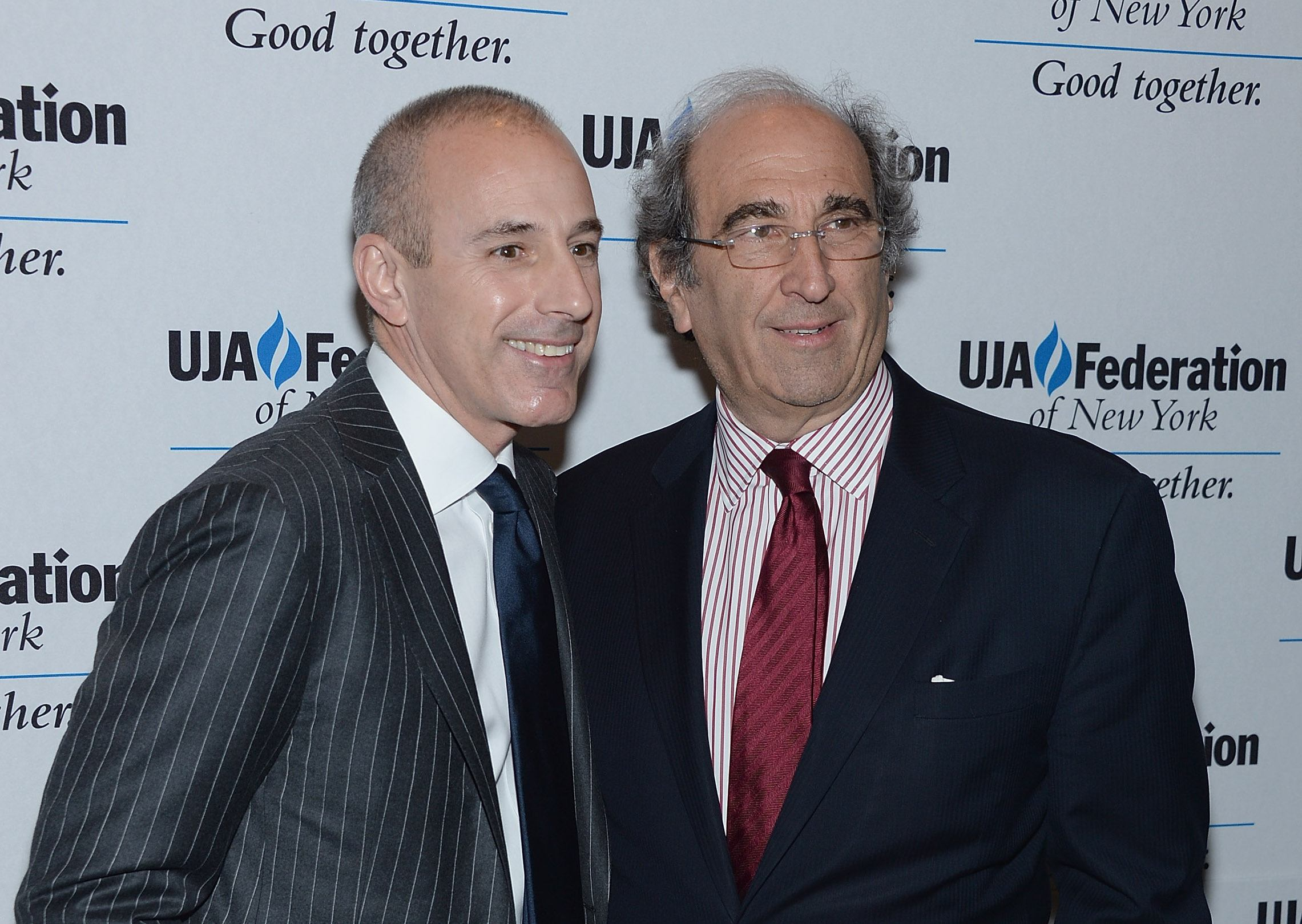 Matt Lauer and NBC exec, Andy Lack