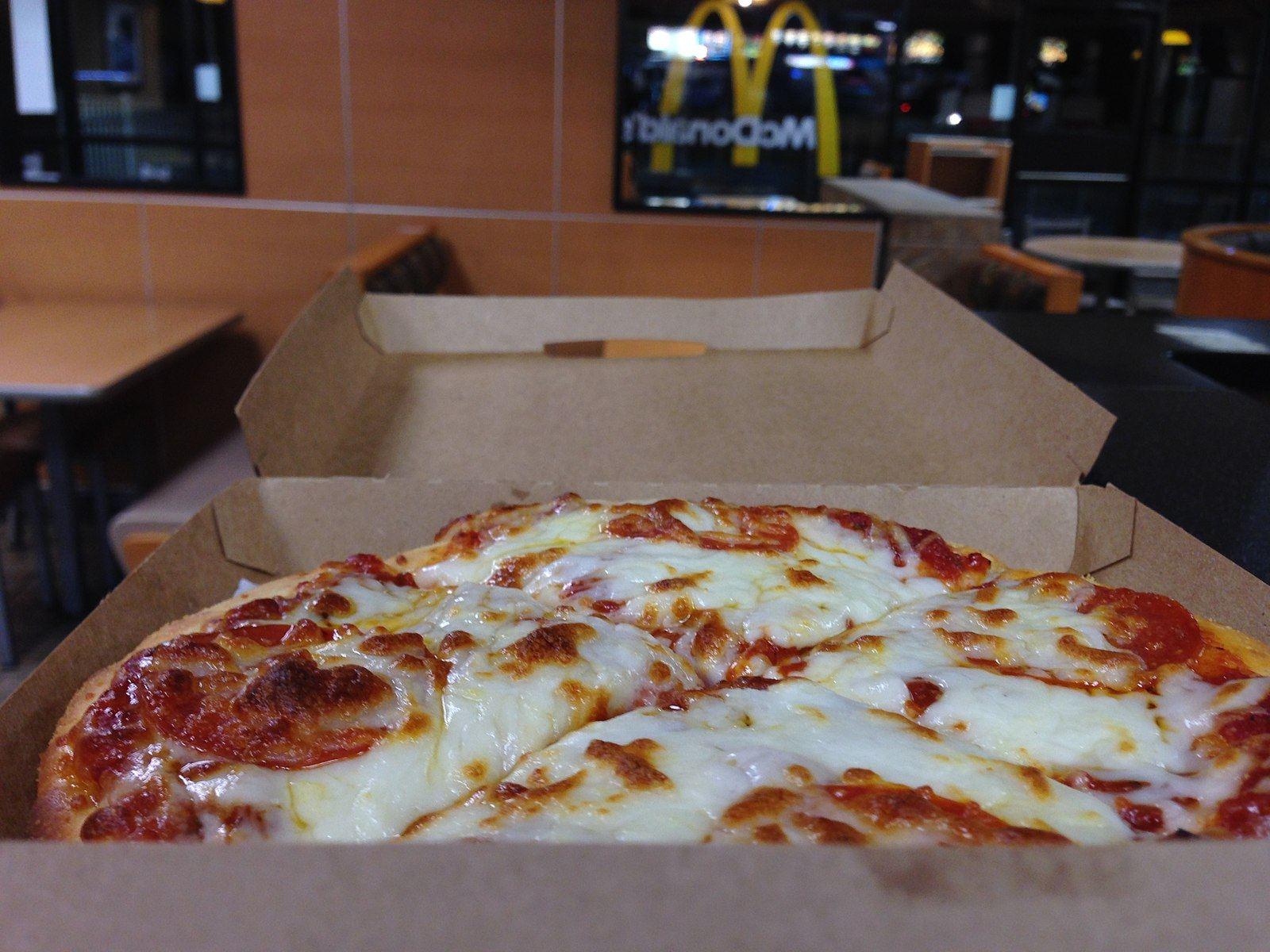 McDonald's pizza