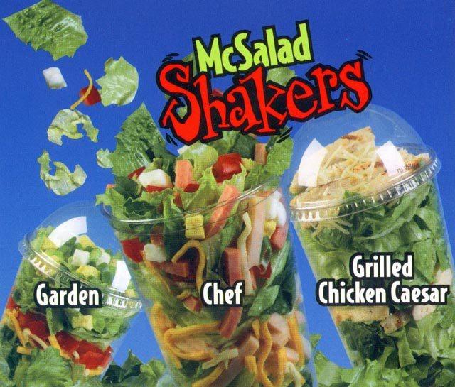 McDonald's Salad Shaker