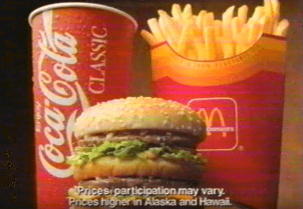 McDonald's Supersize
