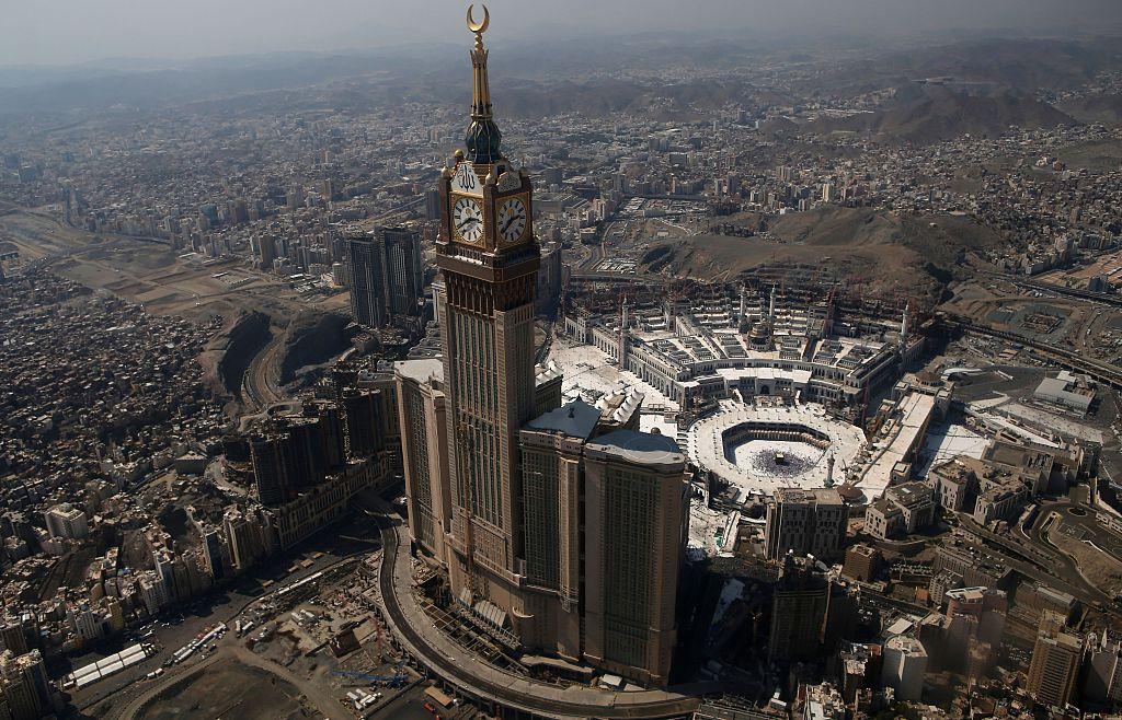 Saudi Arabia's holy Muslim city of Mecca