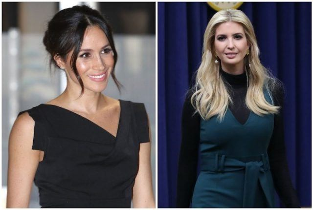 Meghan Markle and Ivanka Trump collage.