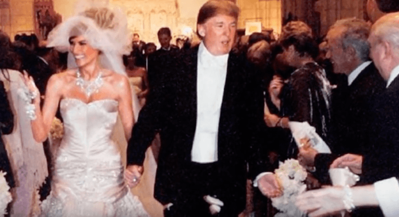 Inside Melania And Donald Trump S Extravagant Wedding Plus The Real Reason Had 2 Dresses