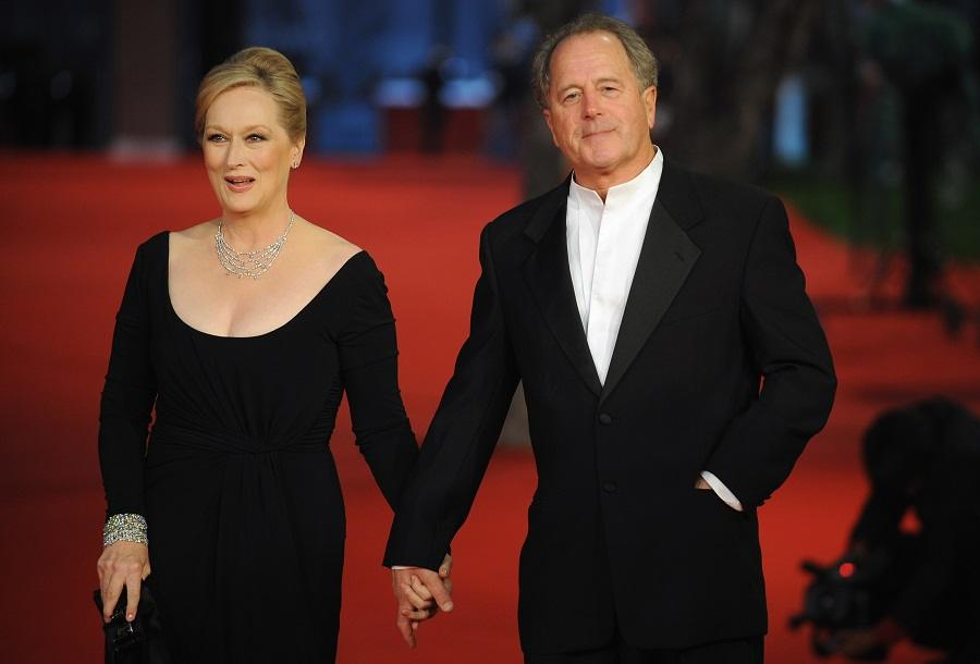 Meryl Streep and her husband Don Gummer