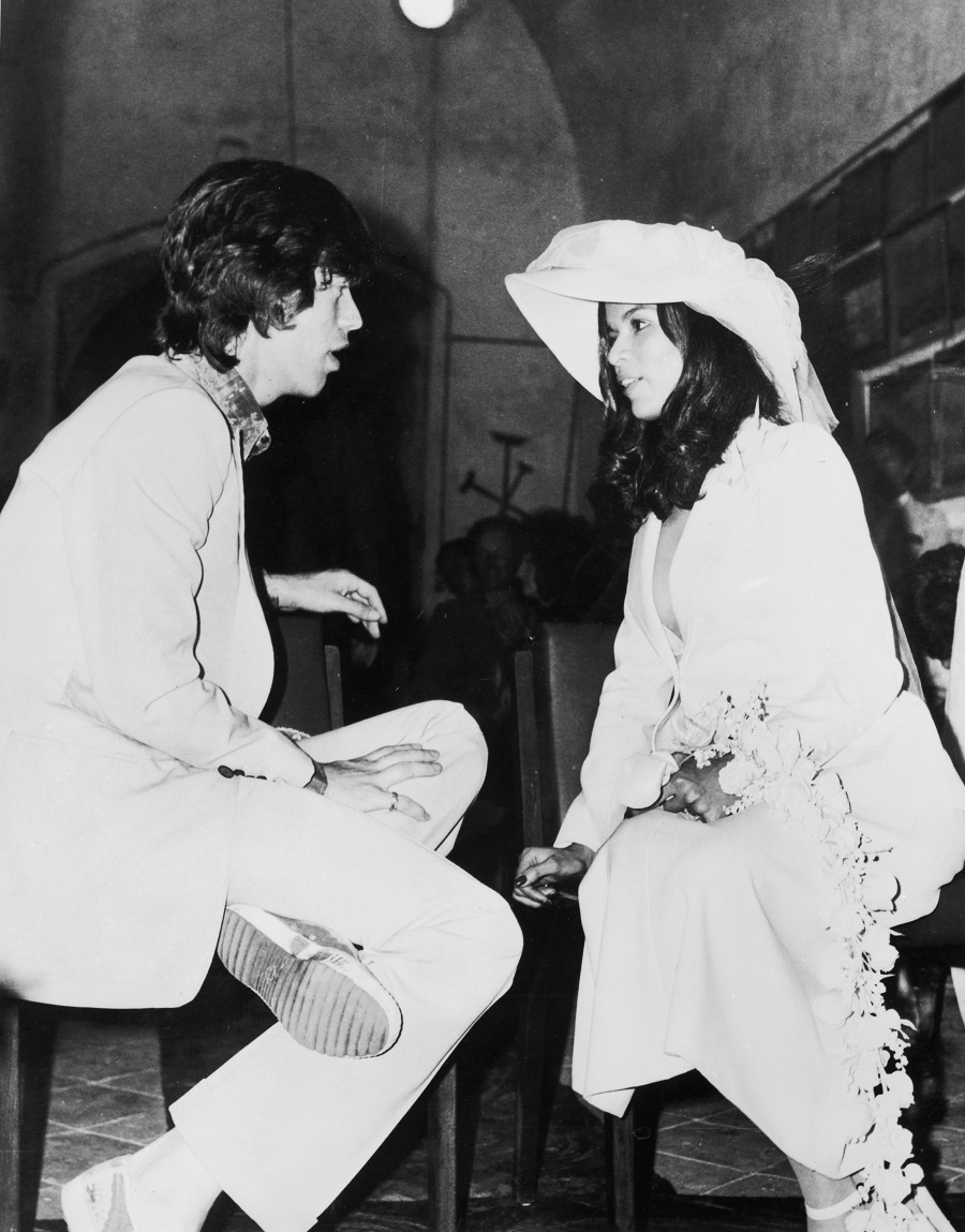 Mick Jagger and Bianca Pérez Mora Macias