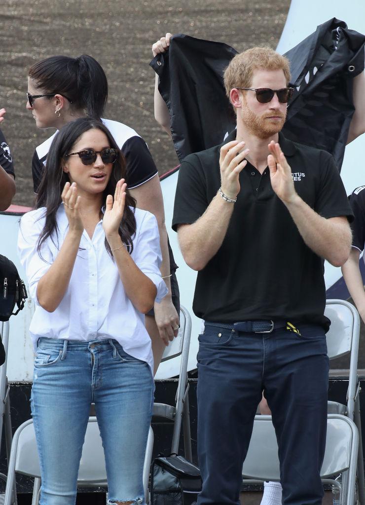 Prince Harry and fiancee Meghan Markle