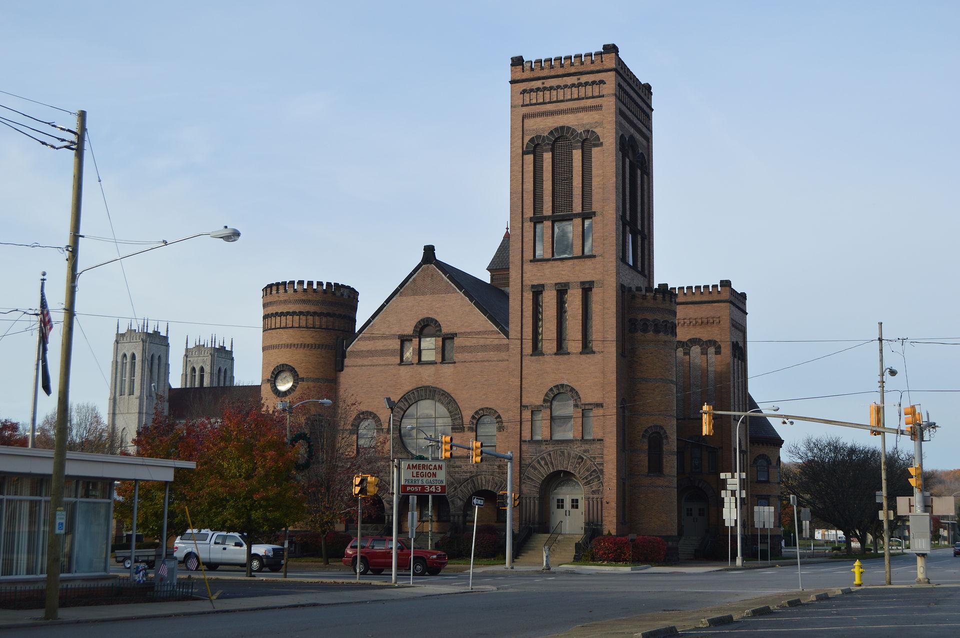 New Castle Pennsylvania church