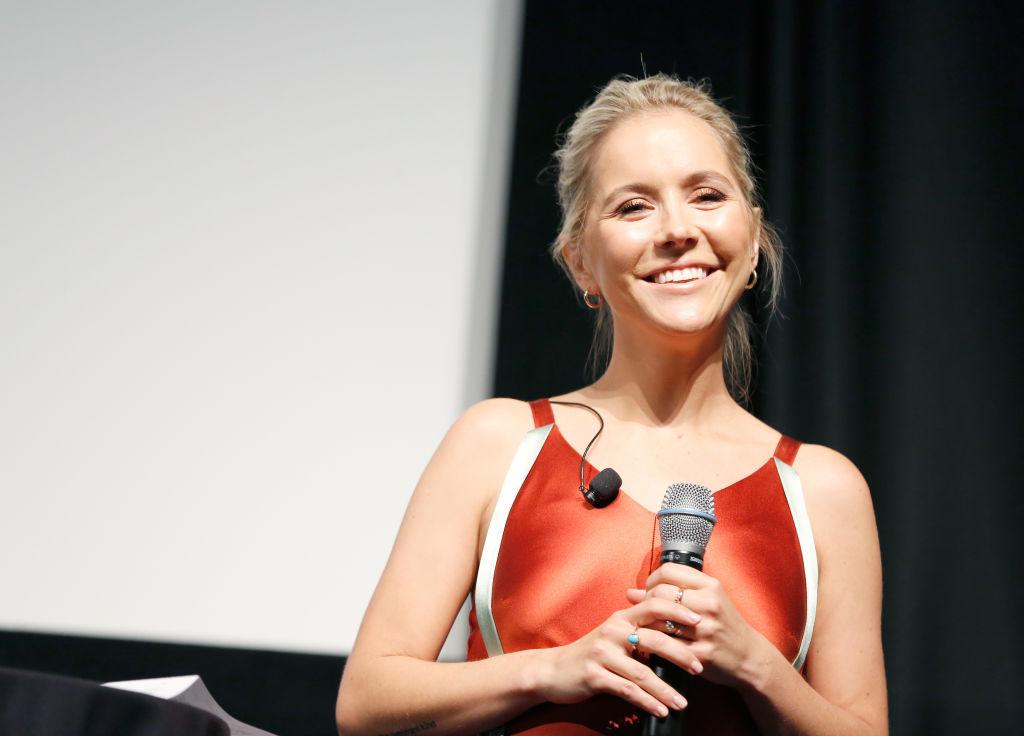 "Creator/Writer/Executive Producer of ""Sweetbitter"" Stephanie Danler speaks onstage"